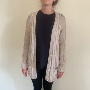 Cabled oversized cardigan by Victoria's Secret